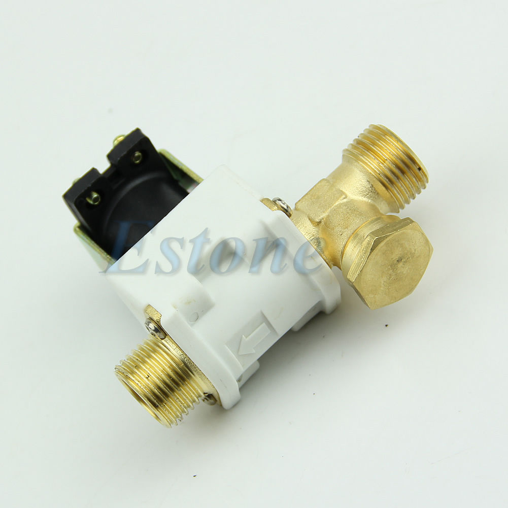 "1/2"" Electric Solenoid Valve For Water Air N/C Normally Closed D"